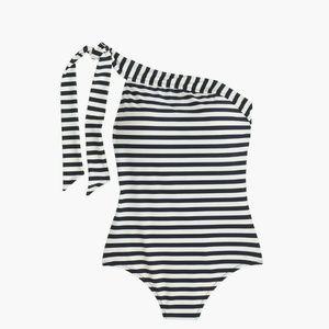 J. Crew Swim - NWT J.Crew One-shoulder one-piece swimsuit Size 16